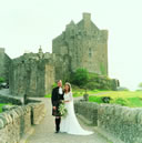 Eilean Donan castle is popular for weddings and as a dramatic location for major films James Bond & Highlander